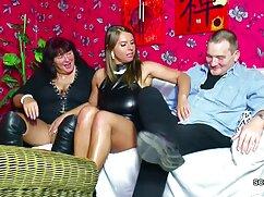 نرم توری دوجنسه زن بازن ساق پوش سیاه